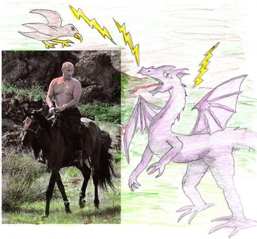 PutinDragonRide
