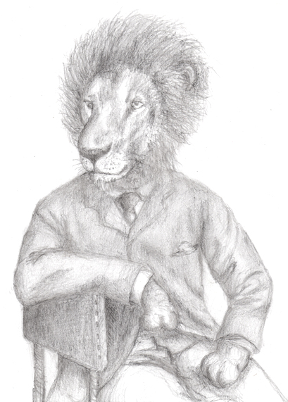 Gentleman Lion