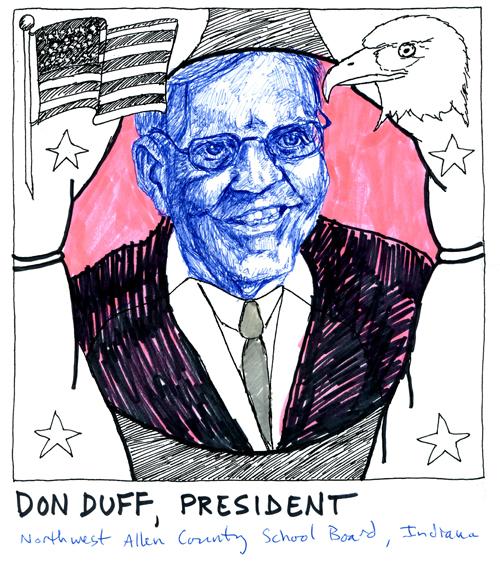 President Don Duff
