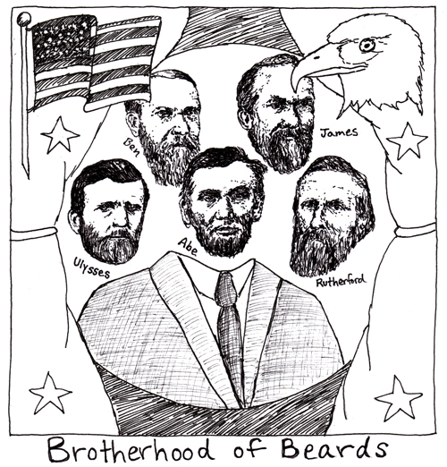 Bearded Presidents