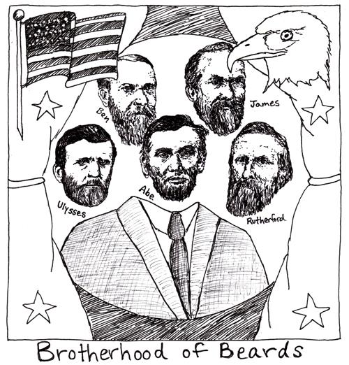 Bearded Presidents